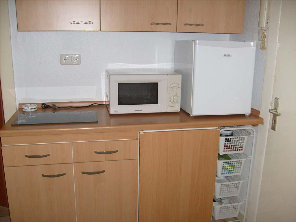 Küche der Handwerker Wohnung in Lübeck
